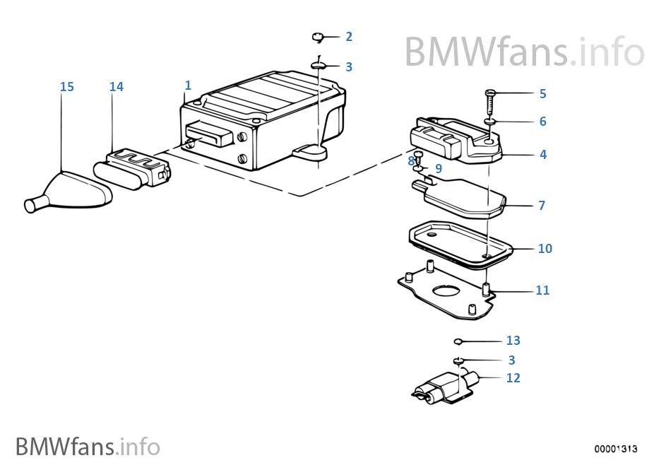 bmw e3 e9 e12 e24 steuerger t z ndsteuerger t 0227100025 ignition control modul ebay. Black Bedroom Furniture Sets. Home Design Ideas