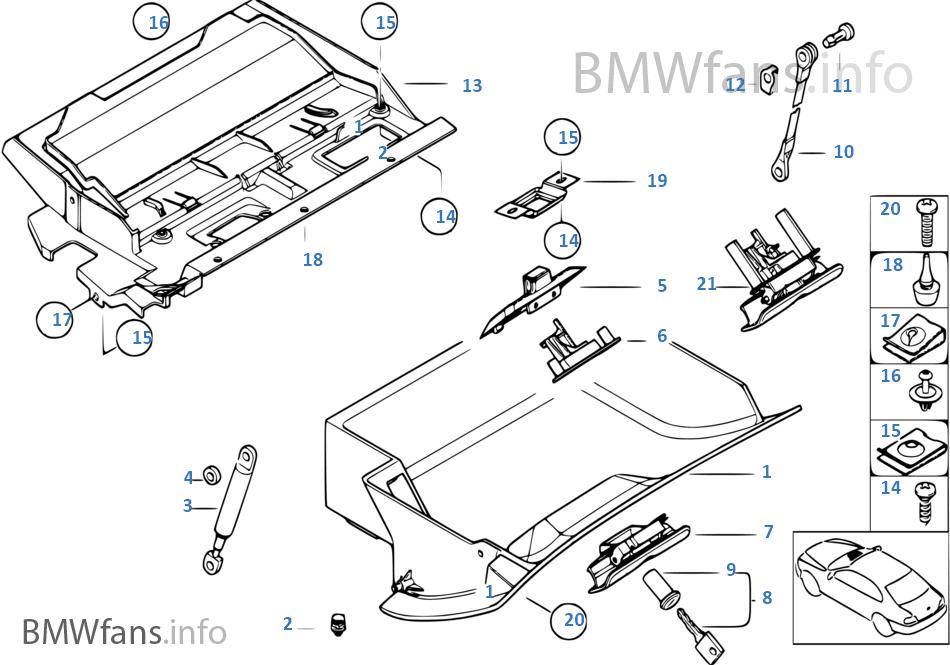 bmw x5 rear seats diagram
