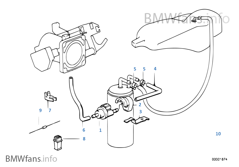 燃油箱通氣閥/乾擾空氣閥