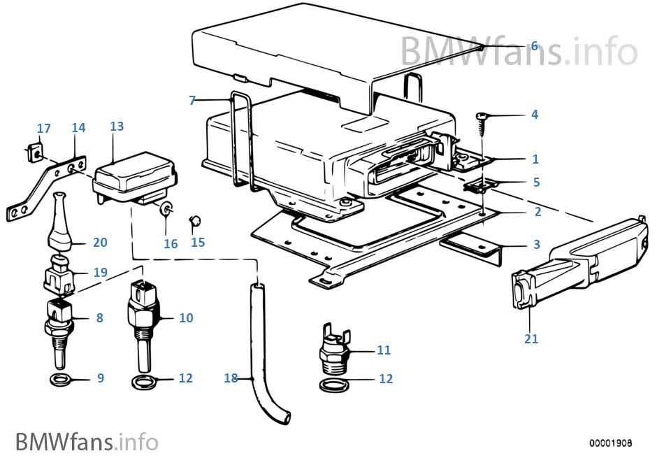 Mecanismo de mando L-jetronic