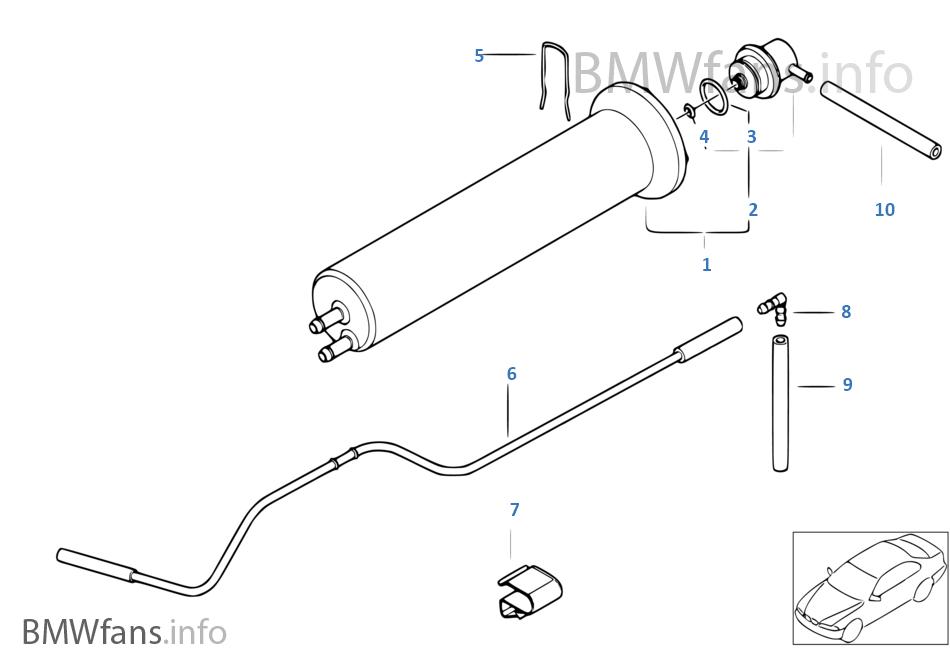[DIAGRAM_3NM]  Fuel filter, pressure regulator | BMW X5 E53 X5 3.0i M54 Europe | 2001 Bmw X5 Fuel Filter |  | BMWfans.info