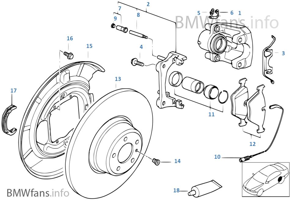 M52 Brake Diagram