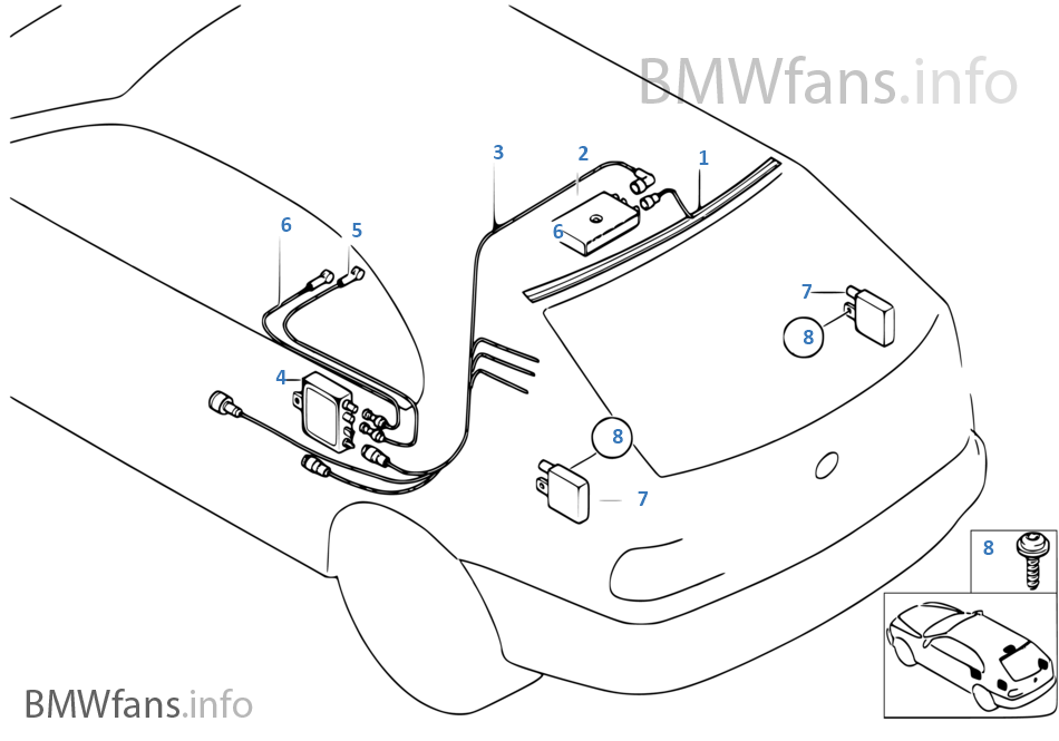 bmw e46 amplifier wiring diagram