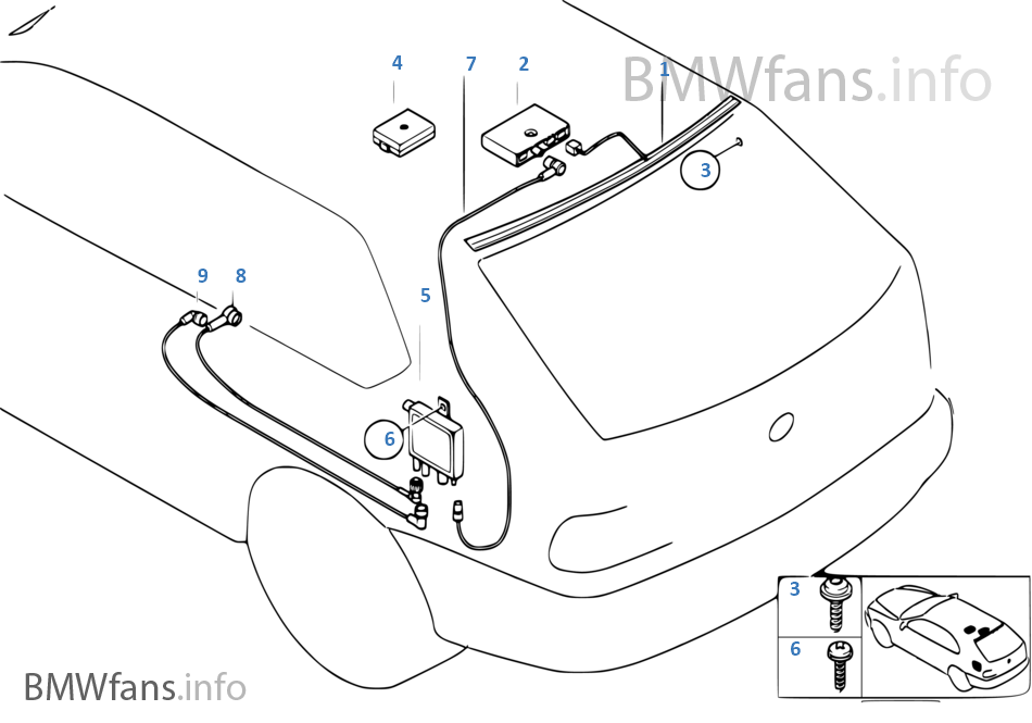Antenna diversity on bmw radio wiring diagram