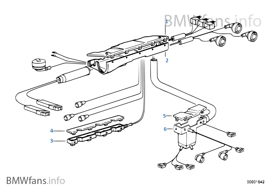 Bmw E36 Wiring Loom - Circuit Wiring And Diagram Hub •