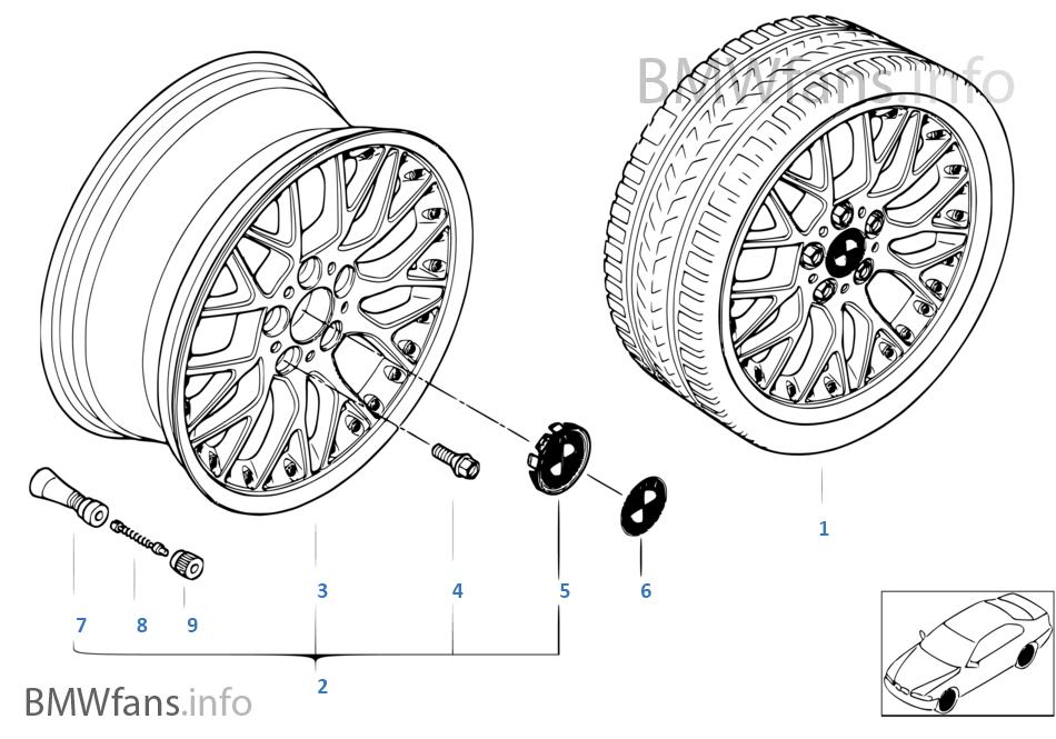 BMW 컴파운드휠,크로스-스파이더 78