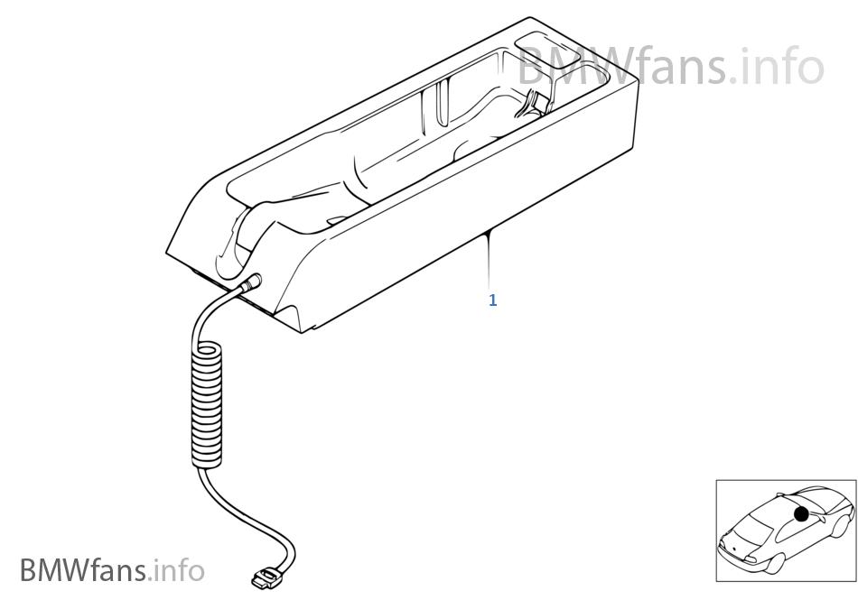 Onderdelen SA 627 middenconsole