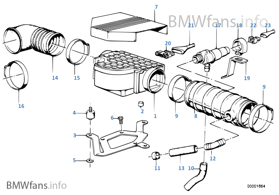 1988 bmw 735i engine diagram