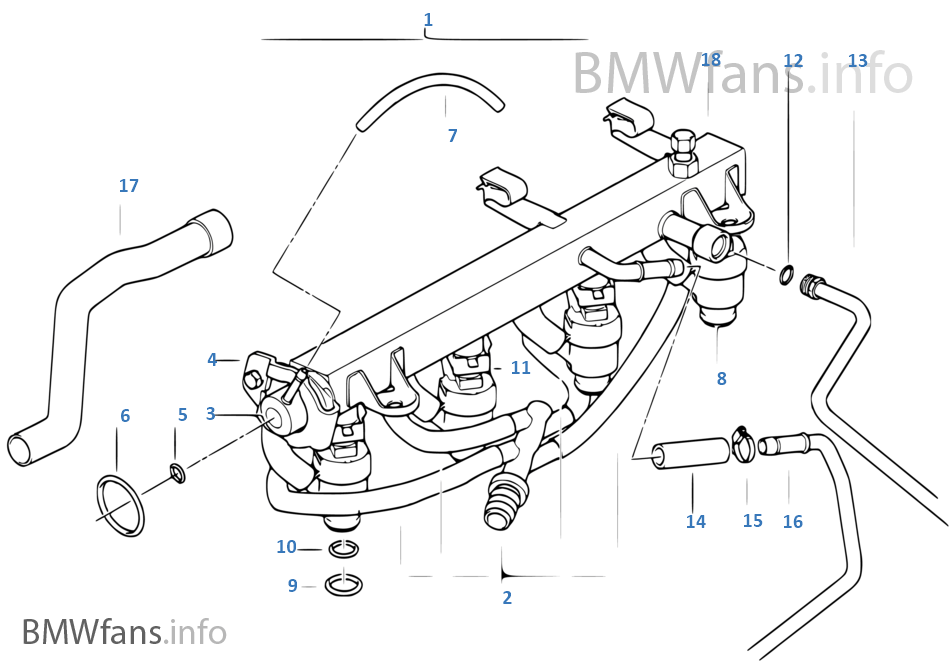 E36 Fuel Line Diagram