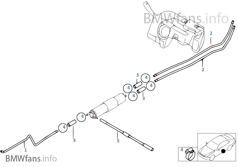 1r2x fuel pipe bmw z3 e36 z3 2 2i m54 europe