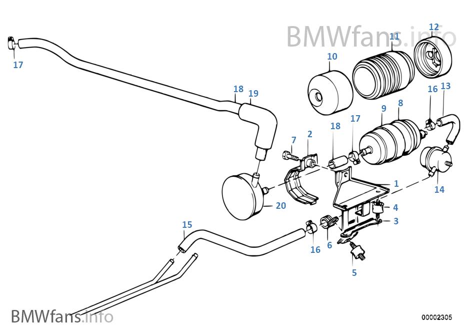 Fuel Pump Bmw 3 E30 320i M20 Europe