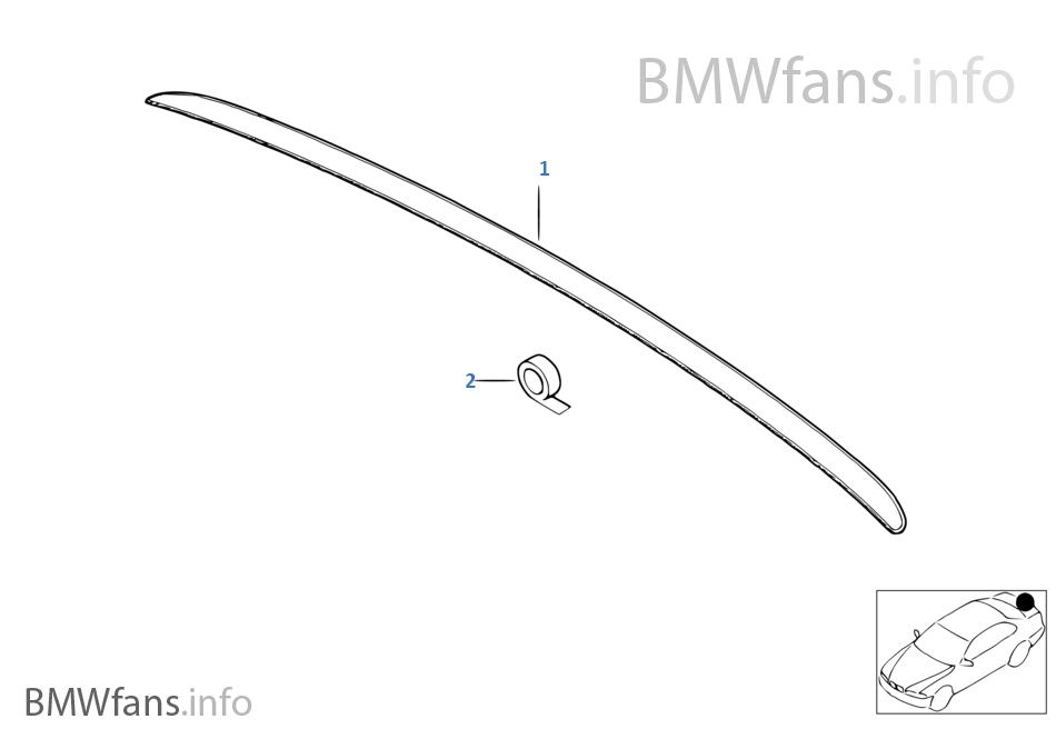 Aile arrière BMW Motorsport