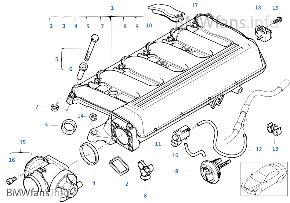 1vt9 intake manifold agr with flap control bmw 3' e46 330d m57 europe e46 air intake diagram at gsmportal.co