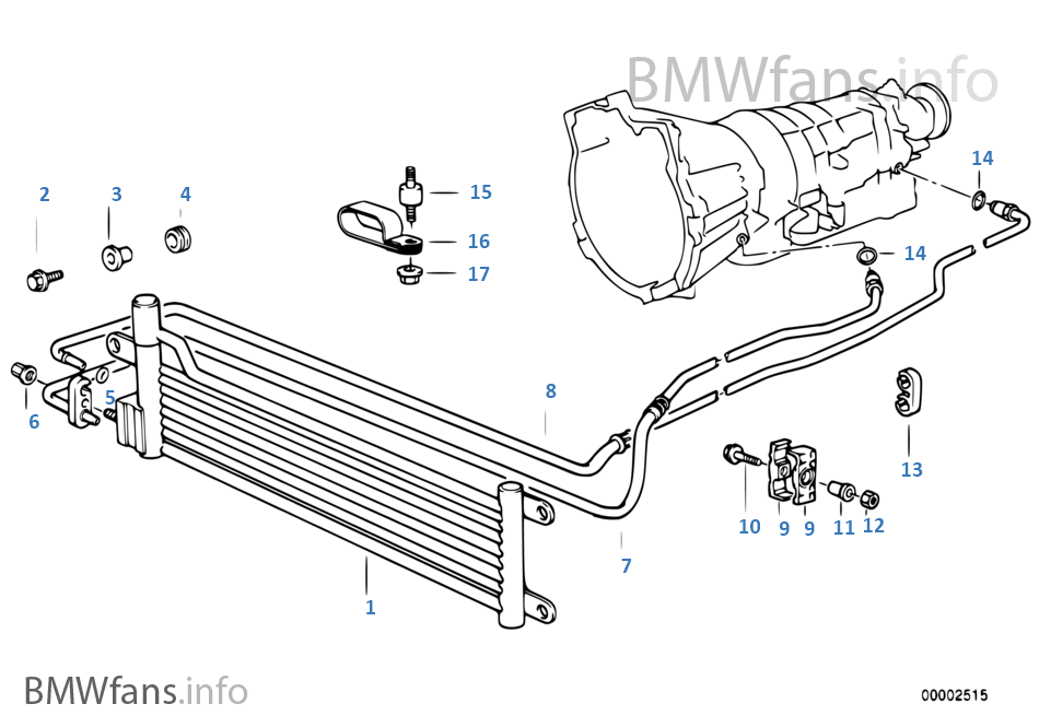 2001 bmw x5 parts diagram