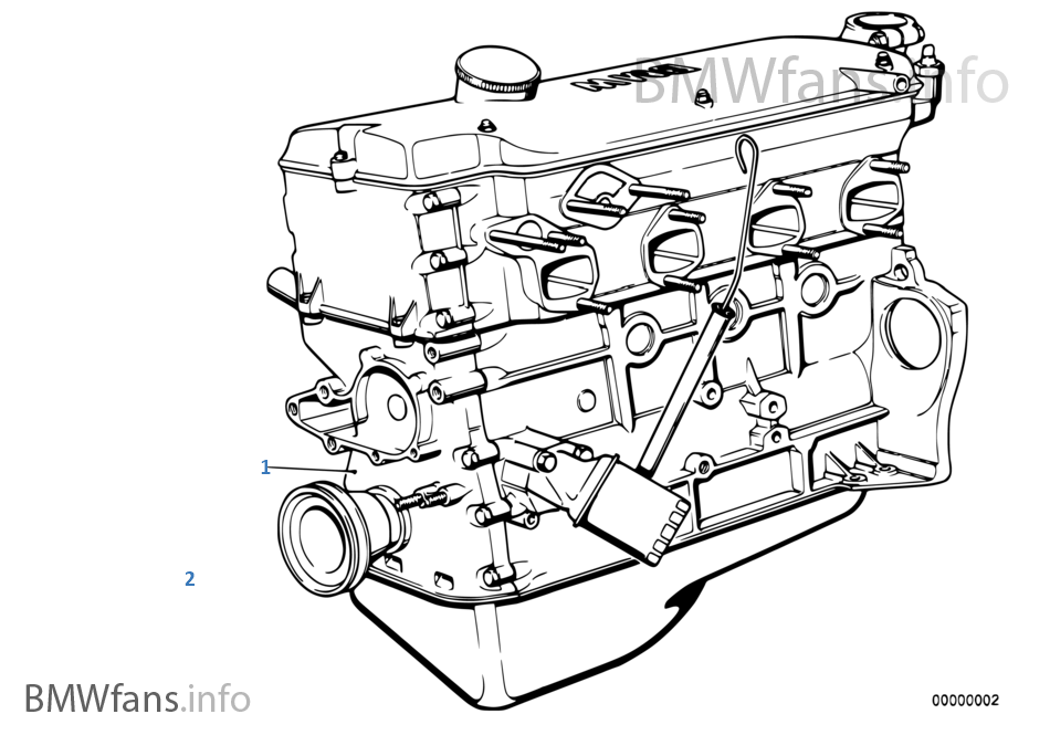 M42 Engine Diagram