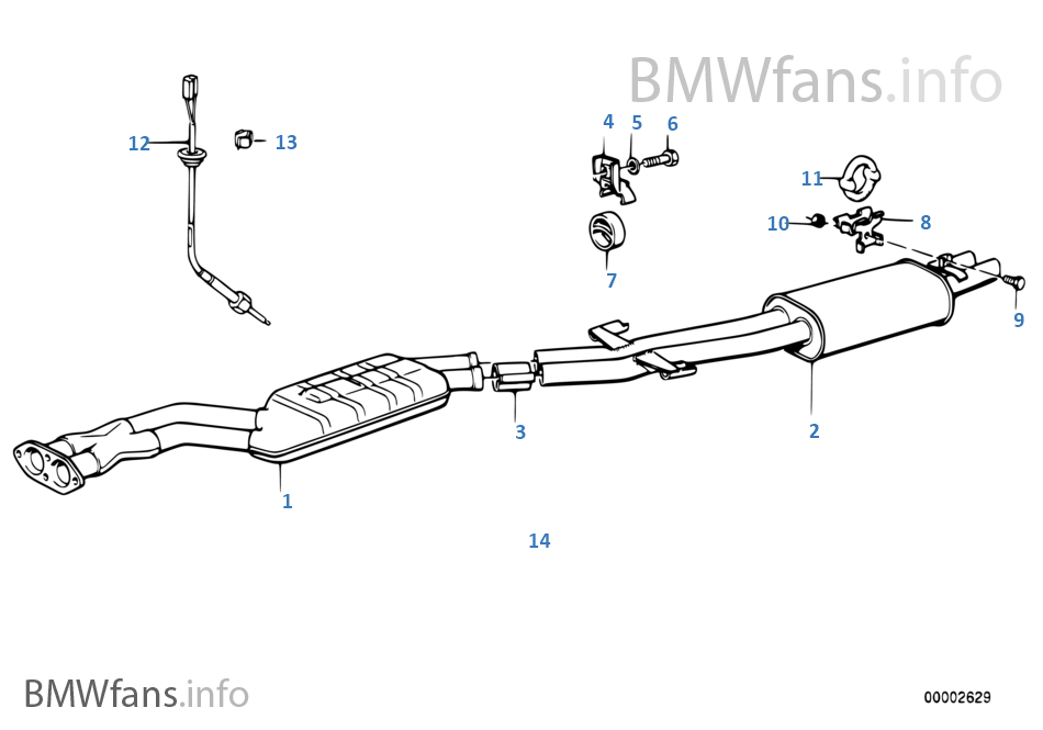 catalytic converter front silencer bmw 3 39 e30 m3 s14 japan. Black Bedroom Furniture Sets. Home Design Ideas