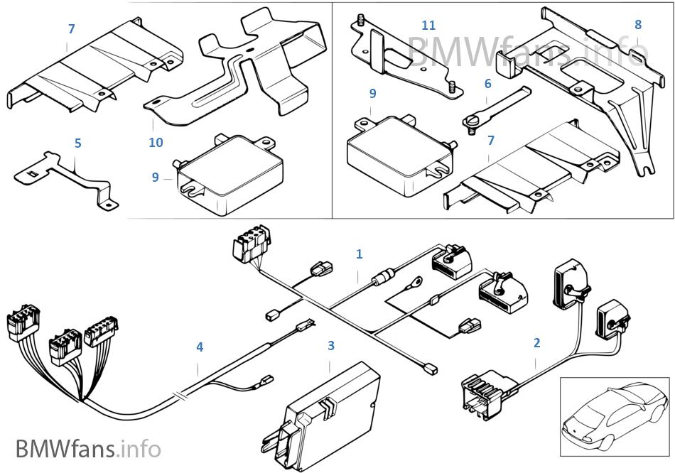 Piezas adic.p instal.portequipa. Serie V