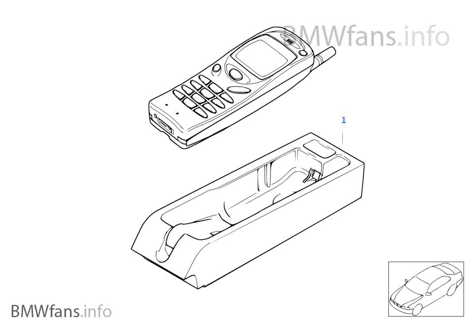 Jednotl. díly Nokia 3110 střední konzola
