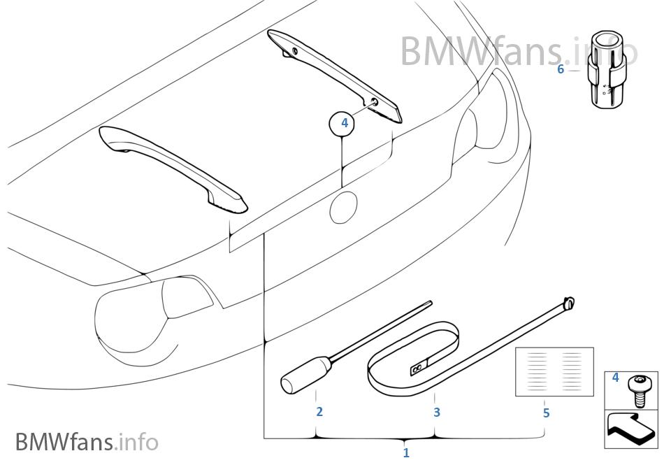 Bmw Trunk Diagram