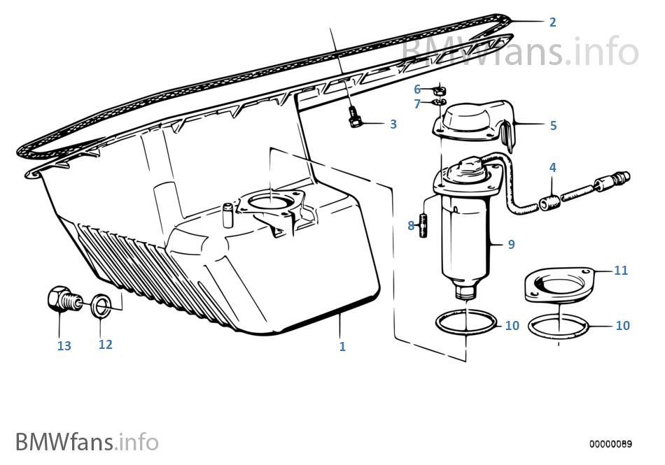 Ölwanne/Ölmessvorrichtung