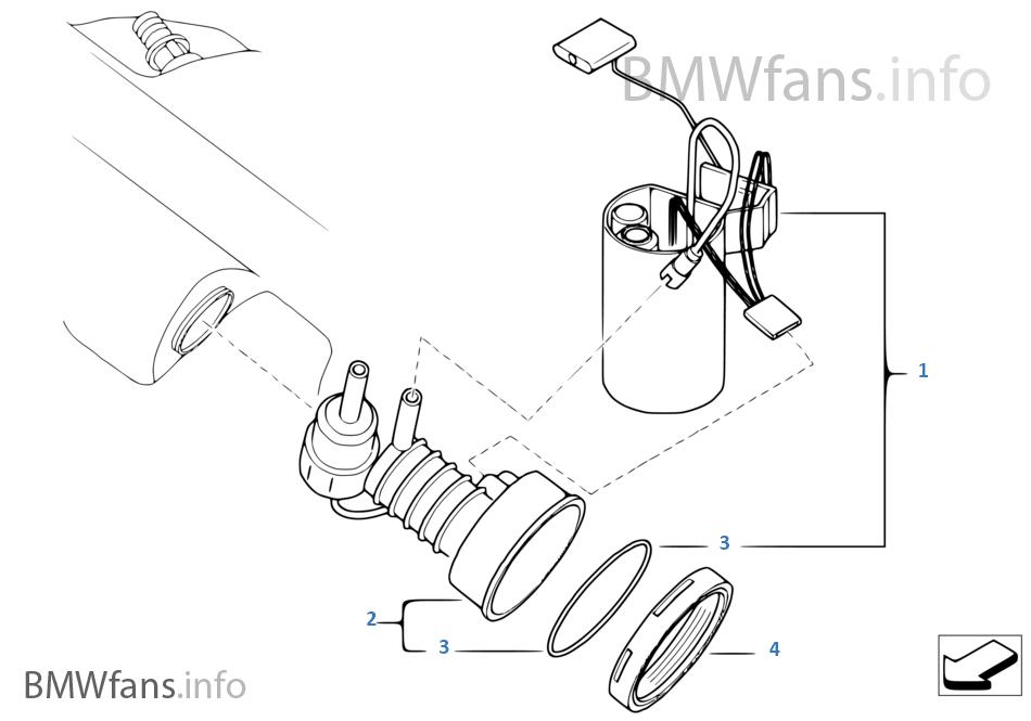 28gt fuel filter pump fuel level sensor bmw z4 e85 z4 2 2i m54 europe