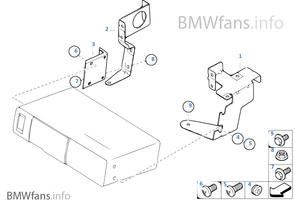 Cd Changer Mounting Parts BMW Z4 E85 3 0si N52 Usa 2008 Roadster 2006: BMW E90 N52 Engine Diagram At Hrqsolutions.co