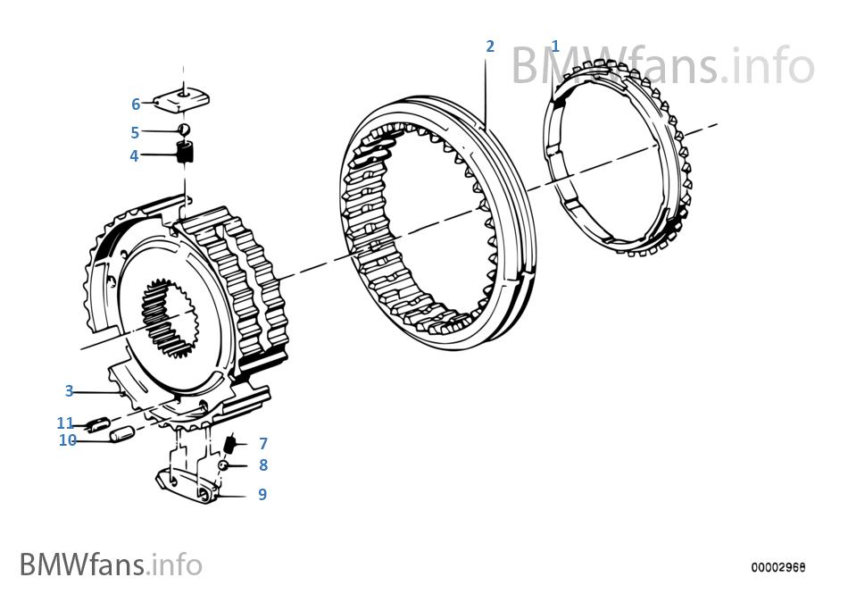 getrag 265  5 synchron reverse gear
