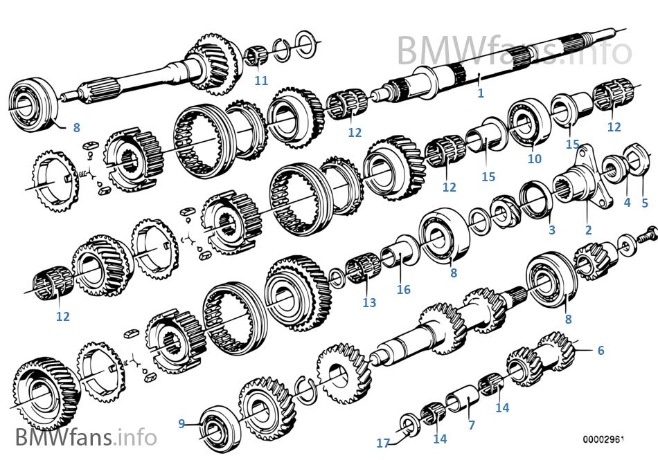 Getrag 265/5 齒輪零件