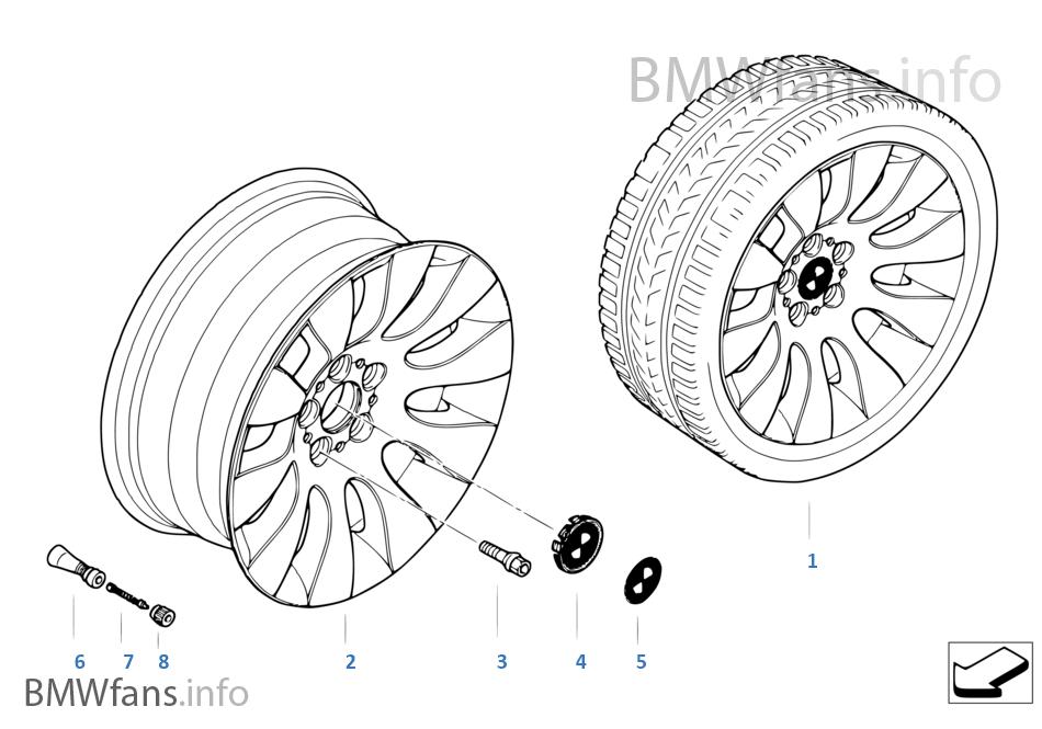 BMW LM Rad Ellipsoidstyling 91