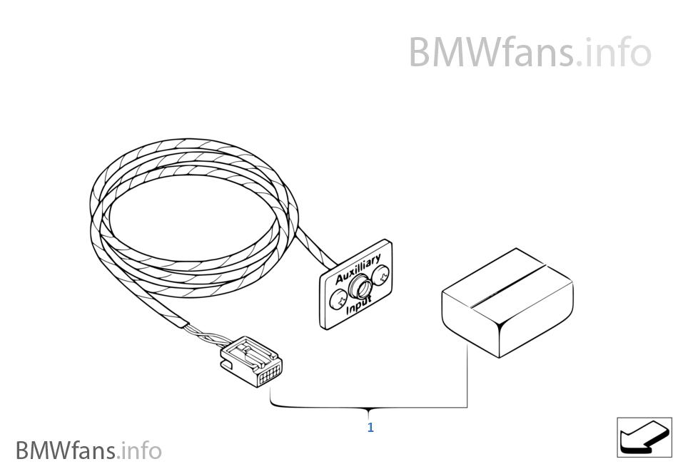 zapojenie aux do bmw e65 730d strana 2. Black Bedroom Furniture Sets. Home Design Ideas