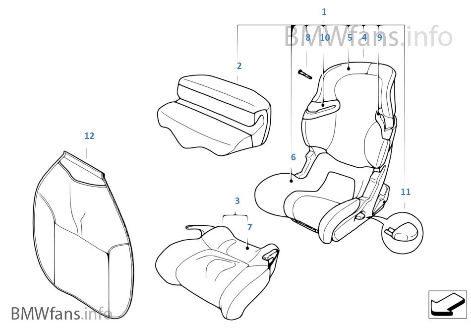 BMW Junior Seat I-II / Junior Seat III