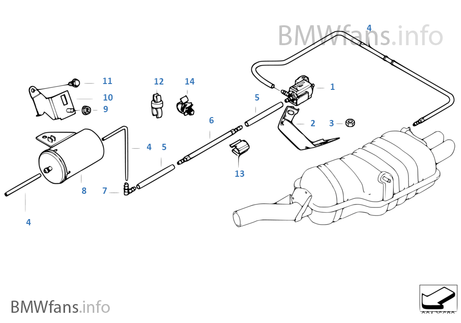 2004 bmw 325xi parts diagram