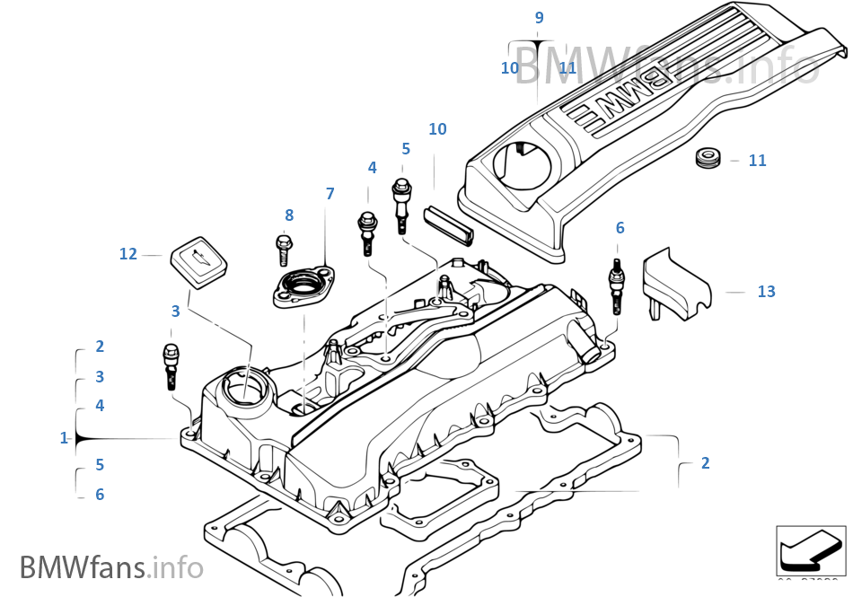 bmw e46 engine diagram cylinder 1