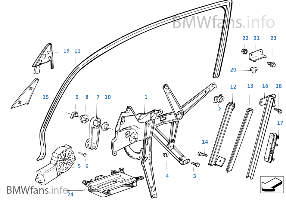 bmw x5 window regulator parts diagram within bmw wiring and engine
