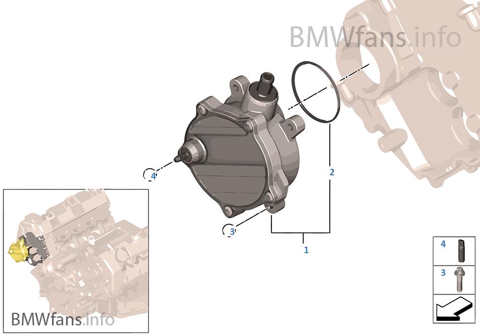 Qualità TOP * SFIATO CARTER VALVOLA BMW 7er 7 lui n62 e65 e66 e67