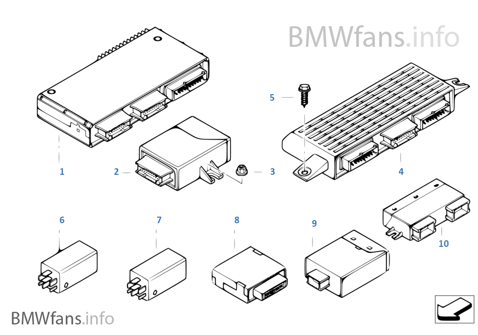 2005 bmw x5 parts catalog html