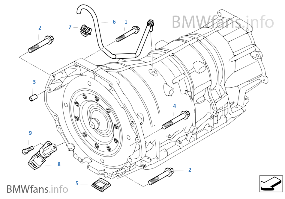 bmw 545i engine diagram