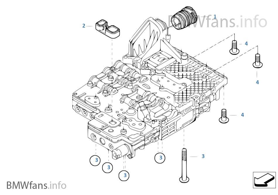 GA6HP19Z Mekatronik montaj parçaları