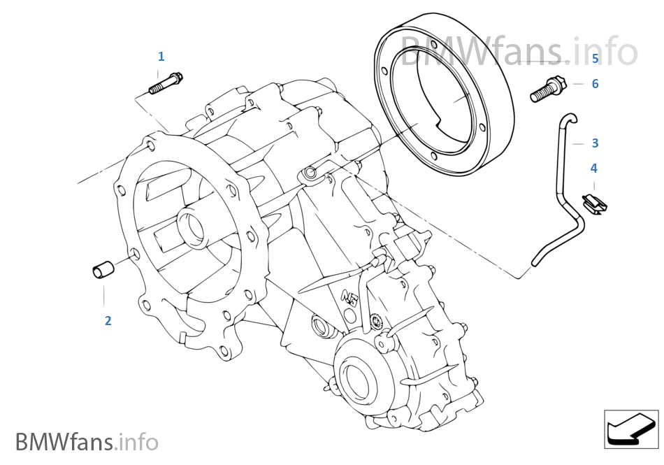 Gearbox Mounting Parts: 2002 BMW X5 Parts Diagram At Scrins.org