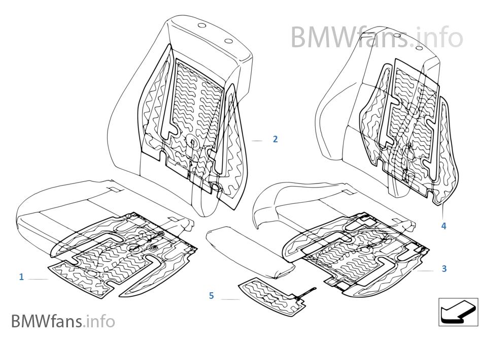 Pièces électriques de chauffage de siège