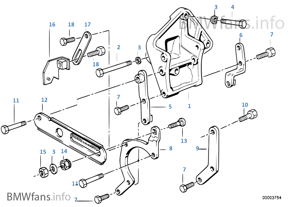 E30 Steering Pump Diagram