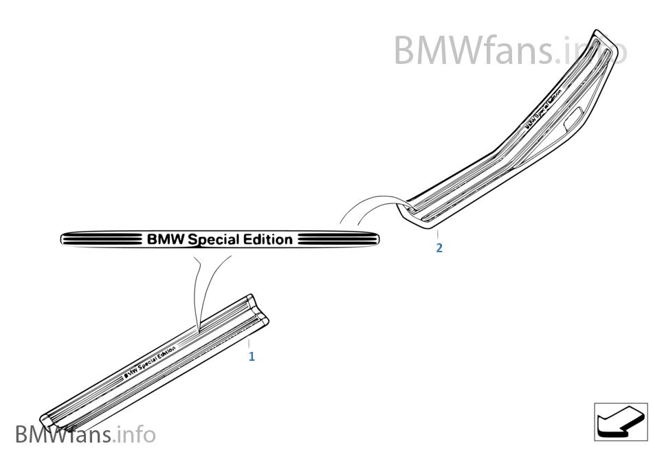 """개별, 커버 """"BMW Special Edition"""""""