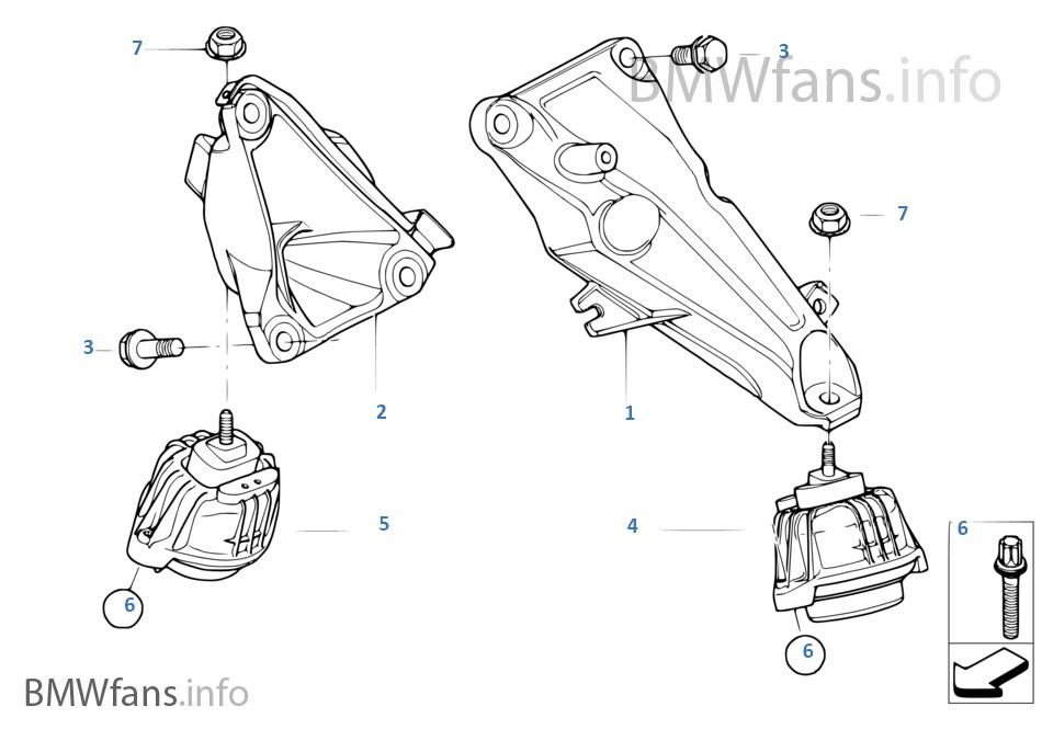 Βάση ανάρτησης κινητήρα