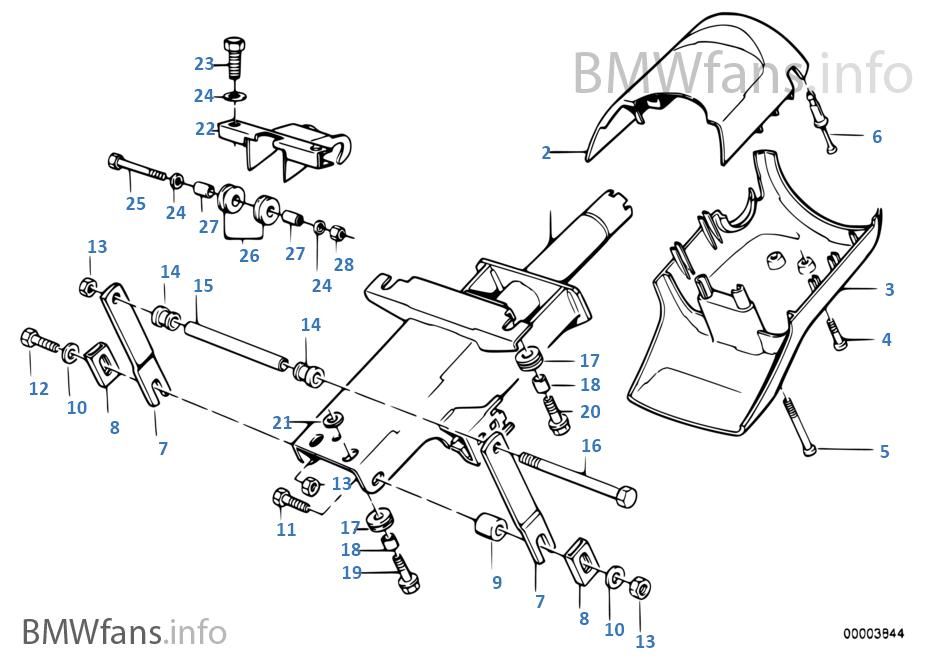 轉嚮柱-軸承座/零件