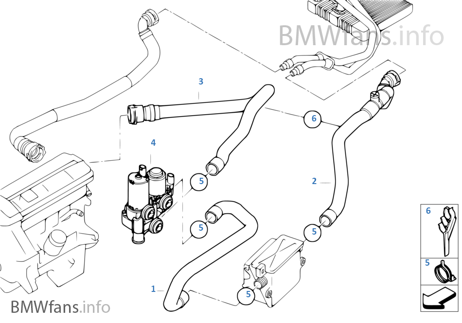 Water Pump Valve Hoses: Diagram Of BMW X3 Engine At Hrqsolutions.co