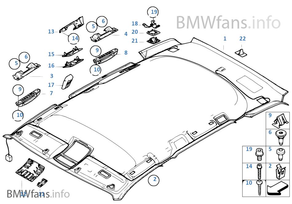 bmw parts catalog e i vehicle trim