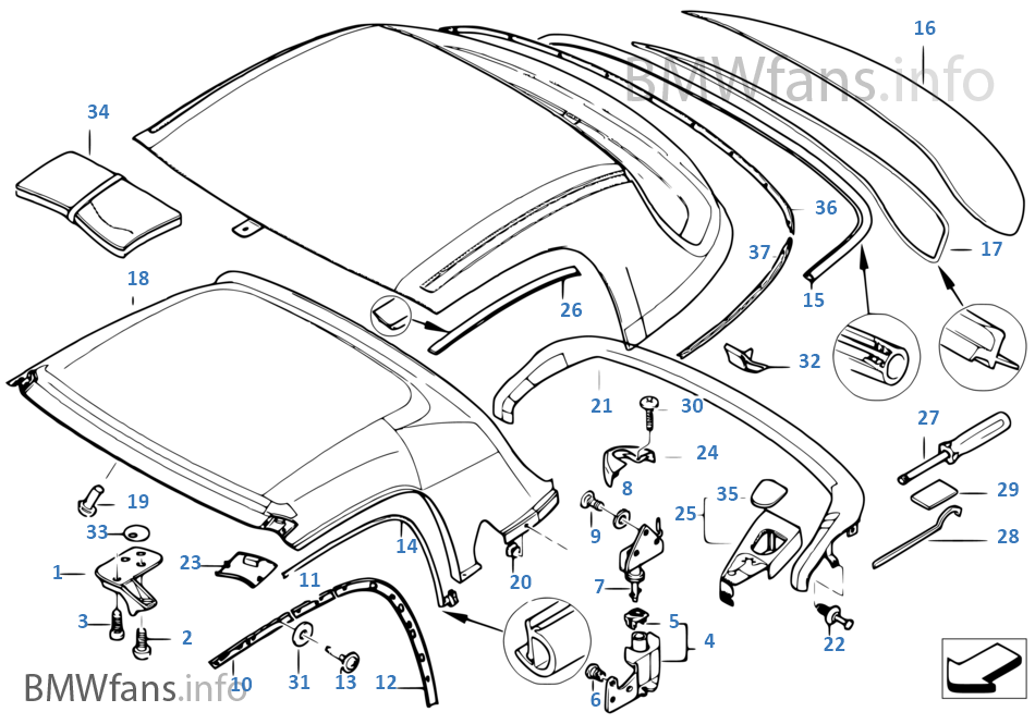 Bmw Z3 Parts Diagrams Wiring Diagram For Free