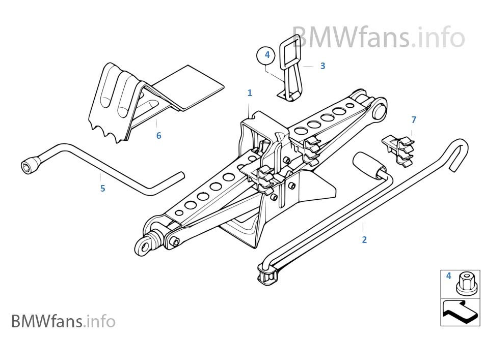 autoparts  u2013 wagenheberaufnahme adapter gummiauflage bmw