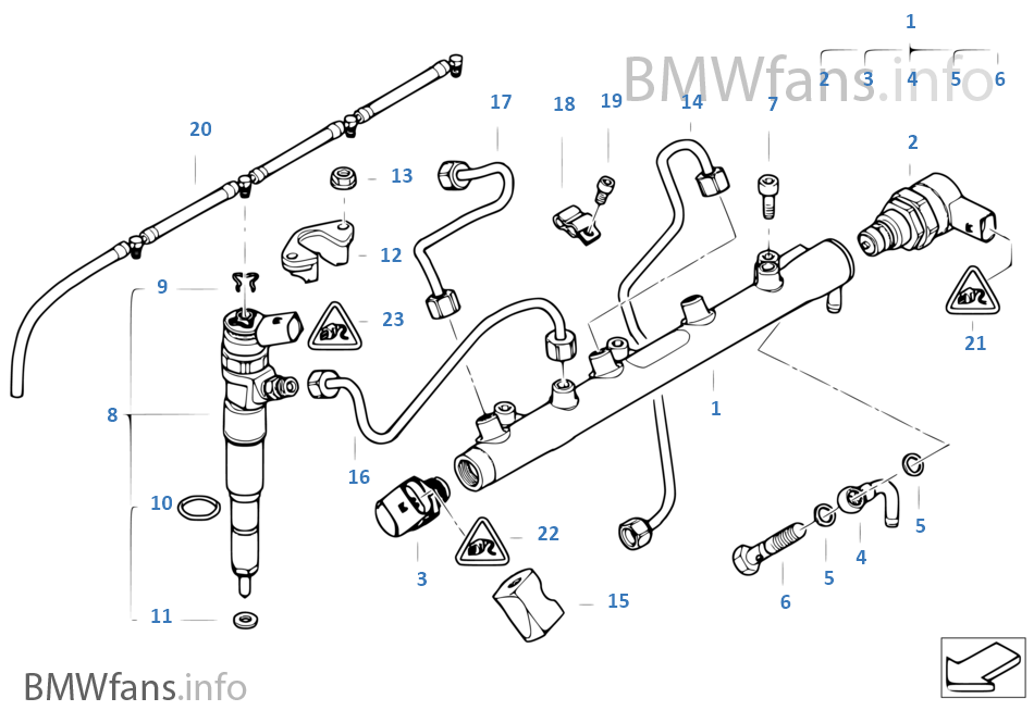 e46 fuel rail with High Pressure Accumulator Injector Line on Timing Gear Timing Chain Top besides I moreover Vacuum Line Diagram 1988 Bmw E30 also  furthermore Product.