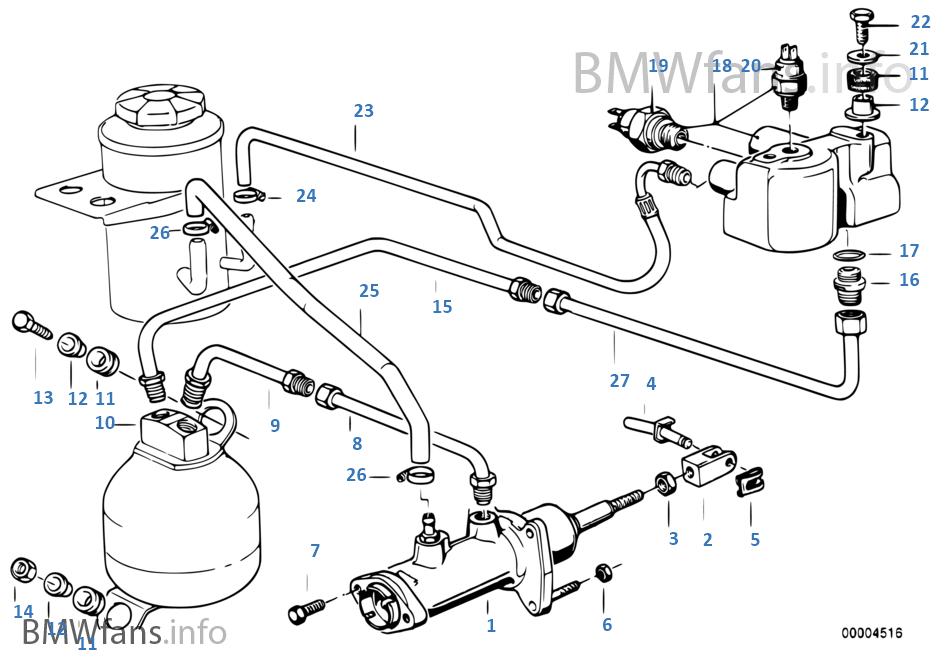 ATE Bremskraftverstärker BMW